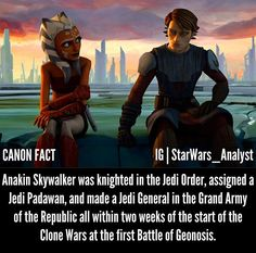 But still didn't give him rank of master? Star Wars Jokes, Star Wars Facts, Star Wars Rebels, Star Wars Clone Wars, Star Wars Baby, Images, Dark Side, Anakin Skywalker, Lightsaber