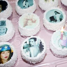 Kate Moss cupcakes