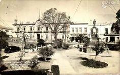 Plaza Ocampo en los 40s.
