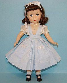 "vintage 15"" maggie face doll ~ madame alexander"