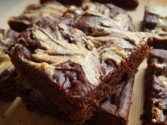 Peanut butter brownies by drizzle me skinny