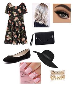 Summer Outfit by bvb-aubrey on Polyvore featuring polyvore fashion style Verali River Island Topshop clothing