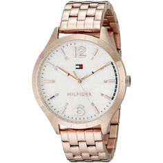 Tommy Hilfiger Women's 1781548 'Classic' Rose-Tone Watch
