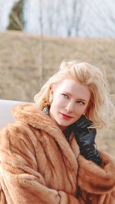 Cate Blanchett in Carol Cate Blanchett Carol, Pretty People, Beautiful People, Patricia Highsmith, Rooney Mara, Actrices Hollywood, Up Girl, Best Actress, Woman Crush