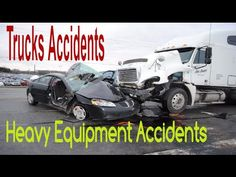 Heavy Equipment Accidents Compilation   Trucks Crashes And Accidents   H...