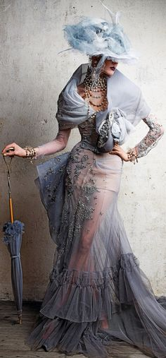 Dior Couture by Demarchelier (2011)