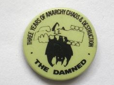 Vintage Damned badge | Flickr - Photo Sharing!