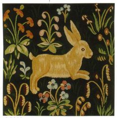 (bunny medieval copy - p.mc.n.) D155-905-19*19 Medival (7486) Tapestries: Tapestry gallery - Over 1500 tapestries and tapestry decorating accessories - Finest quality - Wid...