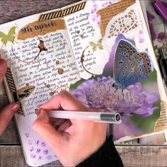 I had so much fun creating these journal pages. Art Journal Pages, Album Journal, Art Journal Prompts, Art Journal Techniques, Bullet Journal Ideas Pages, Scrapbook Journal, Bullet Journal Inspiration, Art Journal Challenge, Art Journals