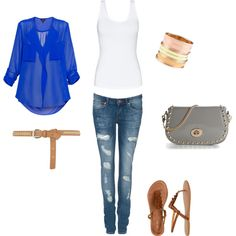 You had me BLUE!, created by joyce-rodney-apperson on Polyvore
