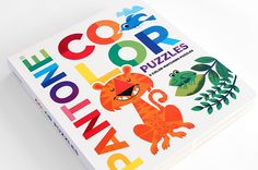 Pantone Color Puzzles book illustrated by Tad Carpenter Creative