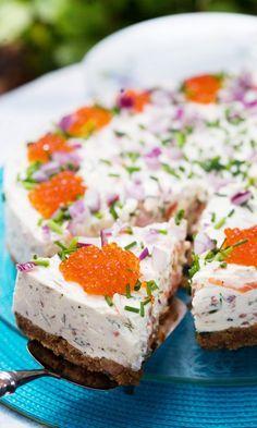Lohi-juustokakku | Maku