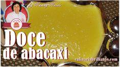 Doce de abacaxi e coco recheio para bolos tortas e bombons | Culinária B...