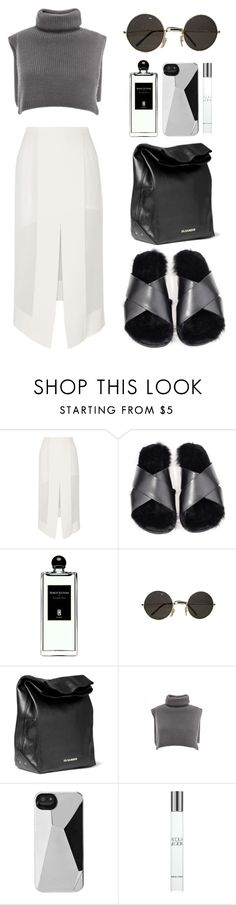 """""""///"""" by mimiih ❤ liked on Polyvore featuring Dion Lee, Serge Lutens, Jil Sander, Marc by Marc Jacobs and Giorgio Armani"""