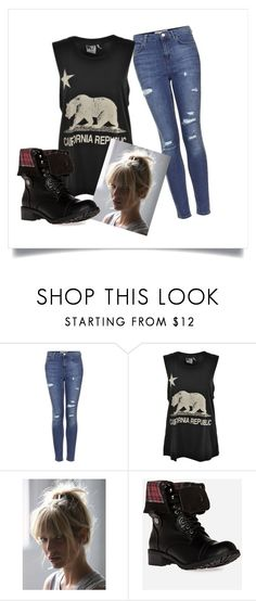 Sin Título #15 by tattoohouse on Polyvore featuring moda, Rebel Yell, Topshop, DailyLook and Free People