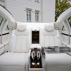 The Back Seat Of A Maybach