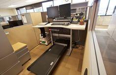 Treadmill workstation benefits employees, employers - Technology Org
