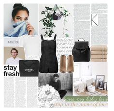 """Knock knock, won't you let me in?"" by xoxashlinaxox ❤ liked on Polyvore featuring Christy, MANGO, Dolce Vita, Topshop and Chanel"