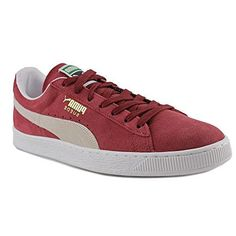 Puma States Summer Cooler Pack Men Suede Burgundy Fashion Sneakers