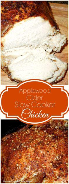 Applewood Cider Slow Cooker Chicken