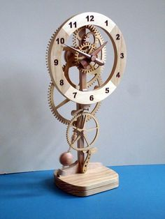 Ingenious. Combines woodwork, electromagnetism, micro-controllers, and LEDs. Oh, and exposed gears. (via injohneer)