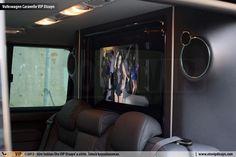 Volkswagen Caravelle VIP Dizayn - leather upholstery, custom vip design