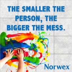 They may be little but kids can make a huge mess! Thankfully, Norwex is on your side. We are so excited to show you what we've got up our sleeve. Stay tuned for new products that can turn Mommy's Mess Maker into Mommy's Little Helper!
