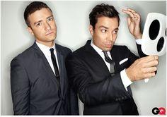 LOVE THEM!!!     GQ Photoshoot with Jimmy Fallon - justin-timberlake Photo