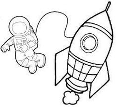 Planets Preschool, Space Preschool, Space Activities, Preschool Activities, Preschool Rocket, Space Projects, Space Crafts, Space Classroom, Outer Space Theme