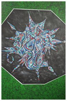 Psychedelic Borg- art by Boglarka Psychedelic, Moose Art, Animals, Animales, Animaux, Trippy, Animal, Animais