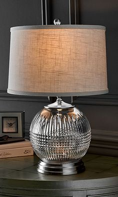 "Waterford Lismore Diamond Mini 15"" Accent Lamp"