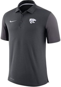 af49eba866a Kansas State Wildcats Nike Sideline 2018 Team Issue Polo - 2005396