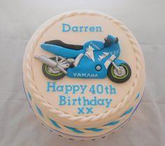 YZF motorbike cake