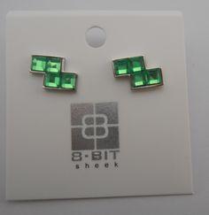 Tetris earrings Z