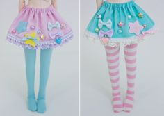 Candy Star Skirts