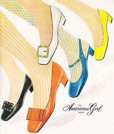 American Girl shoe ad                                                                                                                                                      More