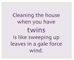 Cleaning with twins.......from www.twinsgiftcompany.co.ukhttps://www.facebook.com/TWINSGIFTCOMPANY
