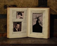 What a great way to reuse old books. I'm gunna be on the lookout at yard sales