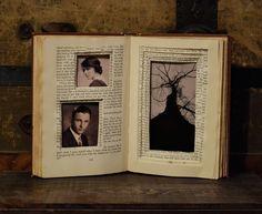 book photo frame  Ein Buch als Bilderrahmen