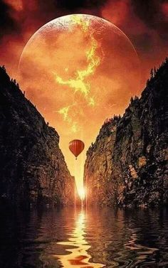 Moon Lovers, golden glow painting idea with balloon. Moon Pictures, Nature Pictures, Pretty Pictures, Cool Photos, Nature Images, Beautiful Moon, Beautiful World, Beautiful Places, Moon Lovers