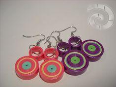 Circles, dots... earrings