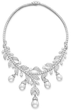 Diamond and Pearl Necklace  Van Cleef & Arpels Christie's