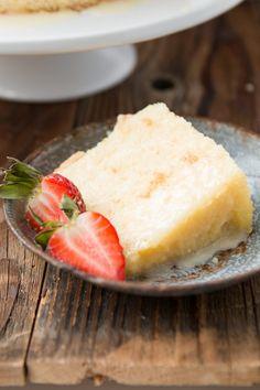 Citrus Chiffon Cake, it's light and airy like angel food and moist like cake ohsweetbasil.com