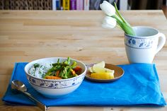 Vegan Spring Vegetable Coconut Curry with 10-minute Cilantro Rice | eHow Food | #MeatlessMonday