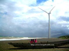 The Wind Farm off Bangui Shoreline | Uncharmed Life