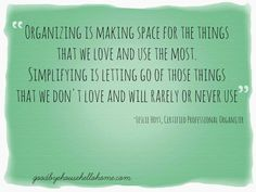 From Overwhelmed to Organized: Why Simplifying Is More Powerful than Organizing