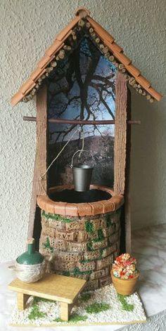 Teja Pozo (Paco y Reyes) Tile Crafts, Decor Crafts Tile Crafts, Diy Home Crafts, Craft Stick Crafts, Decor Crafts, Diy Home Decor, Clay Crafts, Miniature Crafts, Miniature Houses, Miniature Fairy Gardens