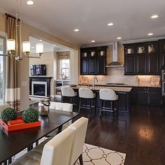 Black kitchens are certainly gaining popularity these days