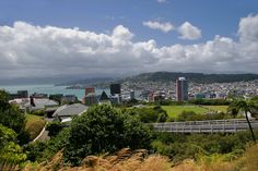 Cable Car Station above Wellington
