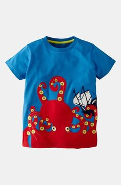 Mini Boden 'Creatures of the Deep' T-Shirt (Toddler, Little Boys & Big Boys) available at #Nordstrom